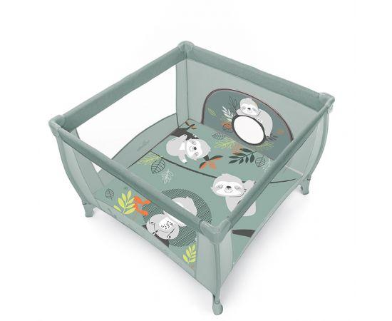 Baby Design Play tarc de joaca pliabil - 04 Green 2020, Culoare: Verde