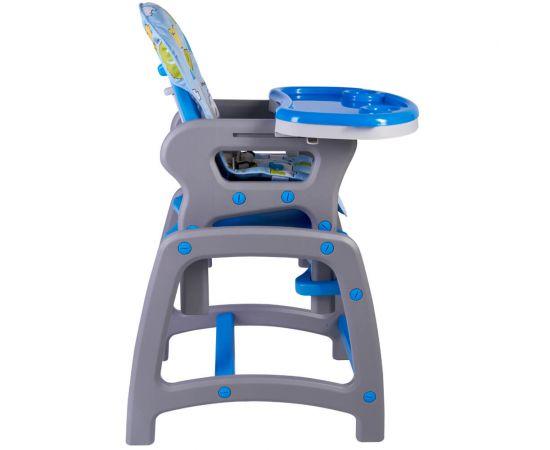 Scaun de masa multifunctional albastru Kidscare, Culoare: Albastru, poza _ab__is.image_number.default