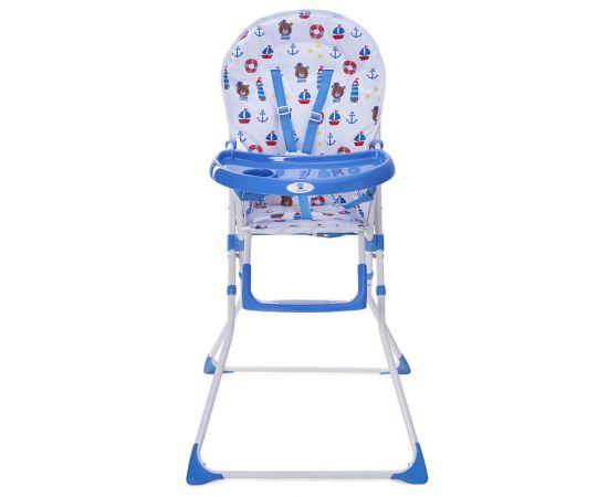 Scaun de masa Bimba Kidscare, Albastru, Culoare: Albastru,poza 2