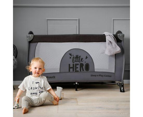 Pat Pliabil Bebe Sleep'n Play Center Little Hero Hauck,poza 4