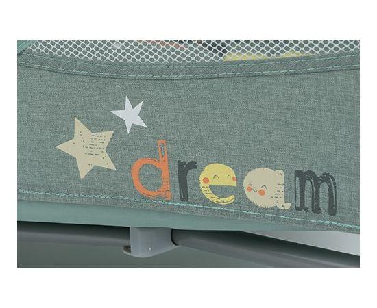 Patut Pliabil cu 2 nivele Baby Design Dream 04 Green 2019, Culoare: Verde,poza 3