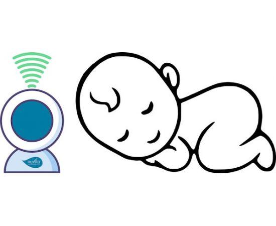 Interfon bebelusi cu proiector de noapte Nuvita Starry 3015,poza 7