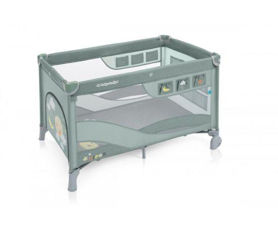 Patut Pliabil cu 2 nivele Baby Design Dream Regular 04 Green 2019, Culoare: Verde