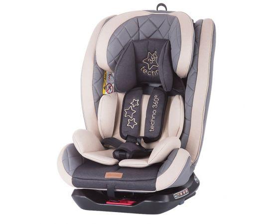 Scaun auto Isofix Chipolino Techno 0-36 kg mocca, Culoare: Crem, Grupa: 0-36kg (0 luni - 12 ani)