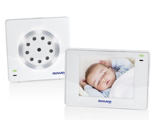 "Interfon video Digital Plus 3.5"" Miniland Baby, poza"