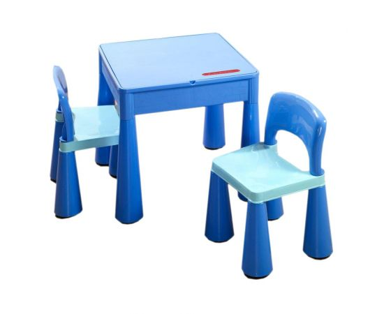 Masuta Guliver cu 2 scaune - Tega Baby - Albastru - Tega Baby