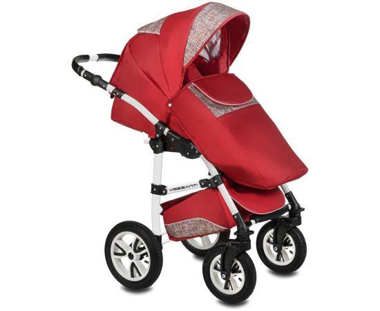 Carucior 3 in 1 Flamingo Easy Drive Red Vessanti, Culoare: Rosu,poza 2
