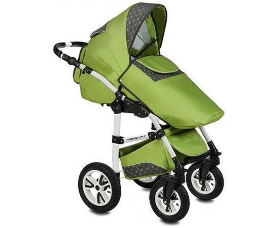 Carucior 3 in 1 Flamingo Easy Drive Green Vessanti, Culoare: Verde,poza 2