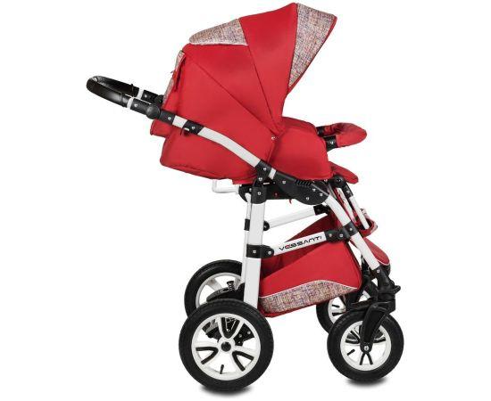Carucior 3 in 1 Flamingo Easy Drive Red Vessanti, Culoare: Rosu,poza 4