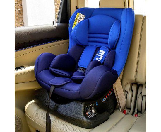 Scaun Auto Juju Little Rider, Albastru-Bleumarin, Culoare: Blue, Grupa: 0-18kg (0 luni - 4 ani),poza 3