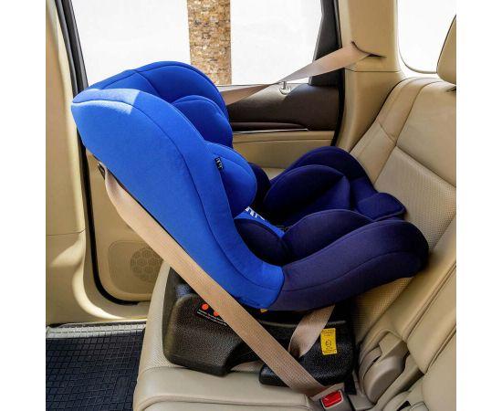 Scaun Auto Juju Little Rider, Albastru-Bleumarin, Culoare: Blue, Grupa: 0-18kg (0 luni - 4 ani),poza 4