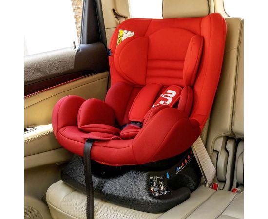 Scaun Auto Juju Little Rider, Rosu-Bordo, Culoare: Rosu, Grupa: 0-18kg (0 luni - 4 ani),poza 3
