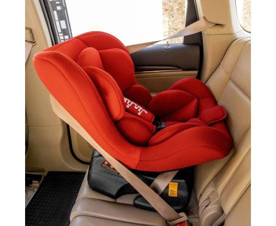 Scaun Auto Juju Little Rider, Rosu-Bordo, Culoare: Rosu, Grupa: 0-18kg (0 luni - 4 ani),poza 4