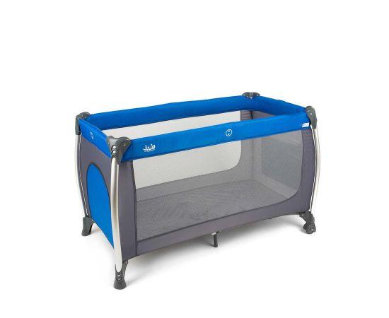 Patut pliant aluminiu 2 niveluri Juju Sweet Naps, Albastru-Gri, Culoare: Albastru,poza 5