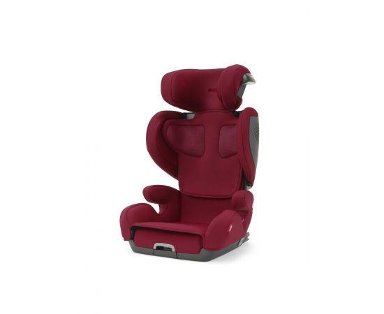 Scaun Auto cu Isofix Recaro Mako Elite 2 Select Garnet Red, Culoare: Rosu, Grupa: 15-36kg (4 ani - 12 ani)