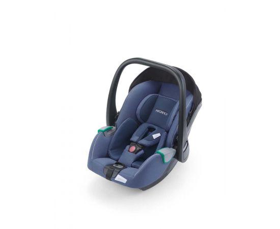 Scaun Auto i-Size Recaro Avan Prime Sky Blue, Culoare: Blue, Grupa: 0-13kg (0 luni - 12 luni)