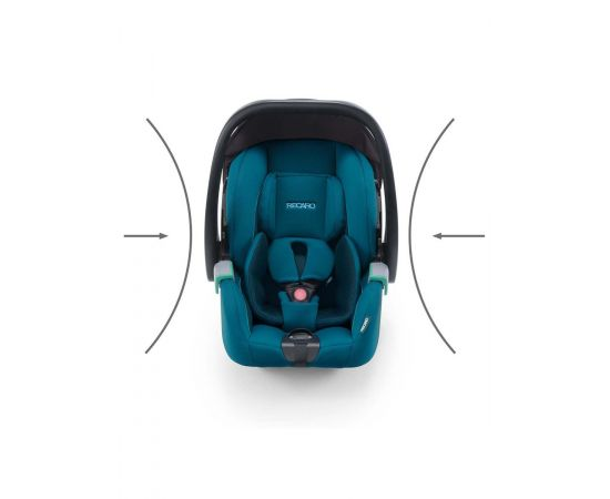 Scaun Auto i-Size Recaro Avan Prime Sky Blue, Culoare: Blue, Grupa: 0-13kg (0 luni - 12 luni),poza 4