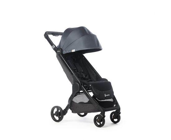 Carucior Compact Metro+ Ergobaby Slate Grey 0-22kg, Culoare: Gri