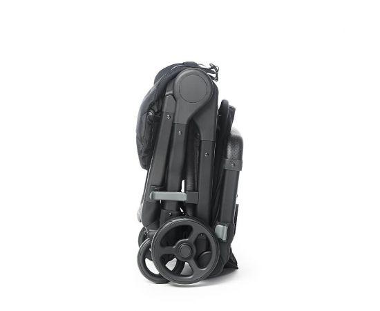 Carucior Compact Metro+ Ergobaby Slate Grey 0-22kg, Culoare: Gri,poza 4
