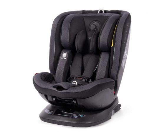Scaun auto rotativ Rear Facing cu Isofix si Top Tether Logos negru 0-36 kg Coletto, Culoare: Negru, Grupa: 0-36kg (0 luni - 12 ani)