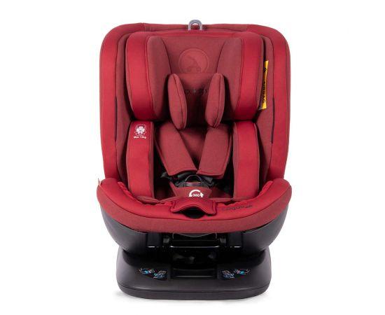 Scaun auto rotativ Rear Facing cu Isofix si Top Tether Logos rosu 0-36 kg Coletto, Culoare: Rosu, Grupa: 0-36kg (0 luni - 12 ani),poza 2