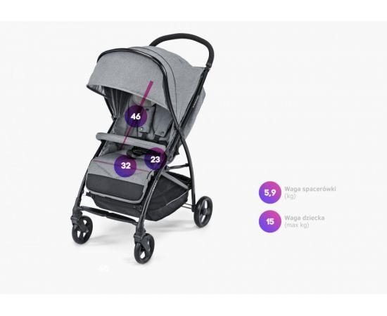 Carucior sport Sway 07 Gray 2019 - Baby Design, poza