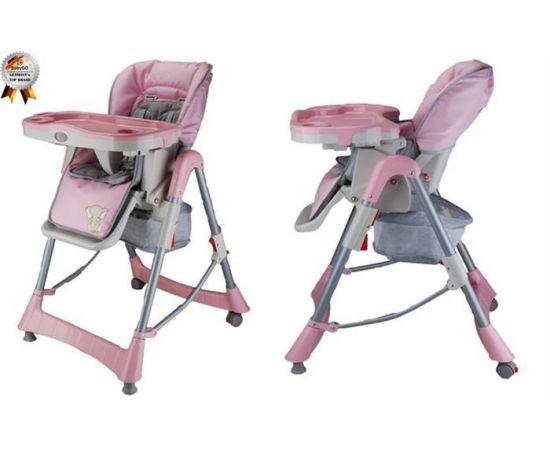 Scaun de masa Tower Maxi Pink - Babygo, poza