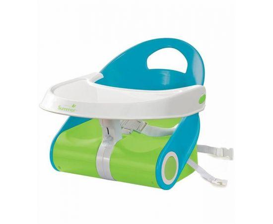 Summer Infant - Booster Sit 'n Style Albastru/Verde, poza